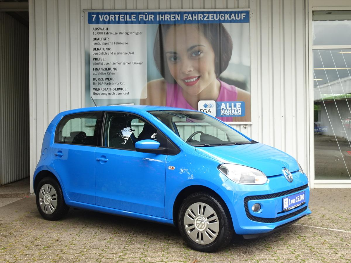 Volkswagen up! 1.0 TEMPOMAT*KLIMA*PDC*SHZG*COOL&SOUND*5-TÜRER*MP3*CD*FB