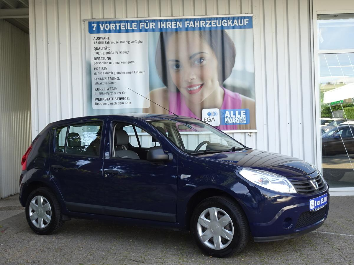 Dacia Sandero 1,2 KLIMA BLUETOOTH MP3 LPG