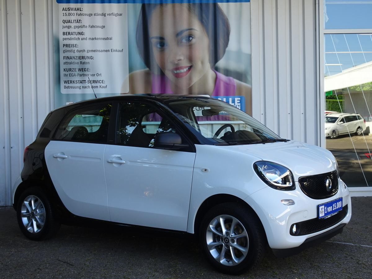 Smart ForFour passion*TWINAMIC*PANO*COOL*AUDIO*LED*SENSOR*PTS*SHZG