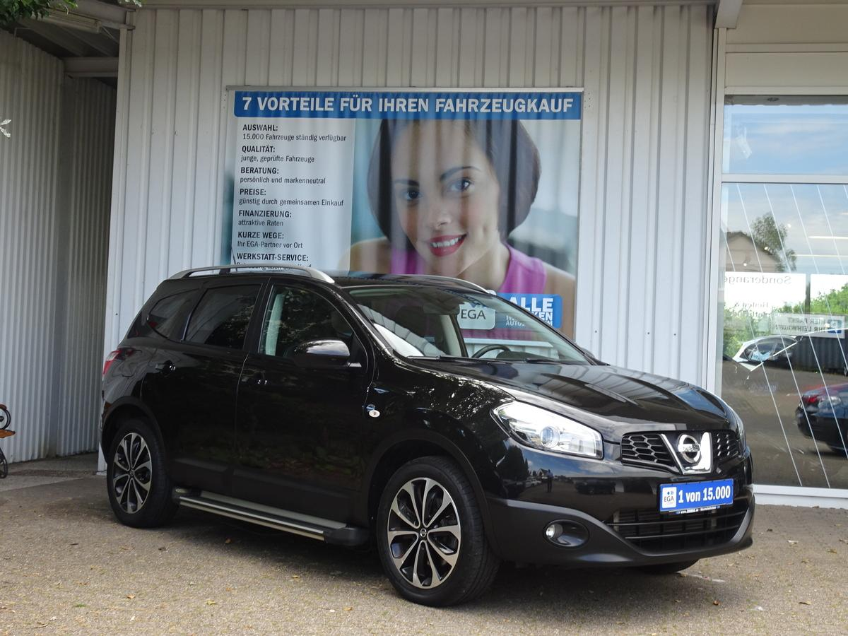 Nissan Qashqai+2  I-Way*7Si*GLASD*NAVI* PDC* CAM* TEMPOMAT* PRIVACY