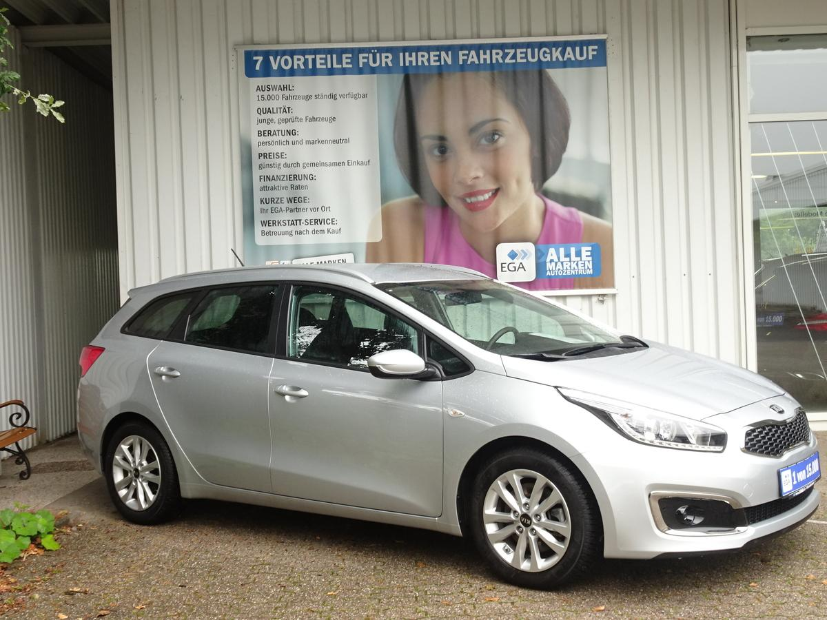 Kia cee'd SW 1.4 Edition 7 ALU KLIMA PDC MFL NSW BLUETOOTH MP3