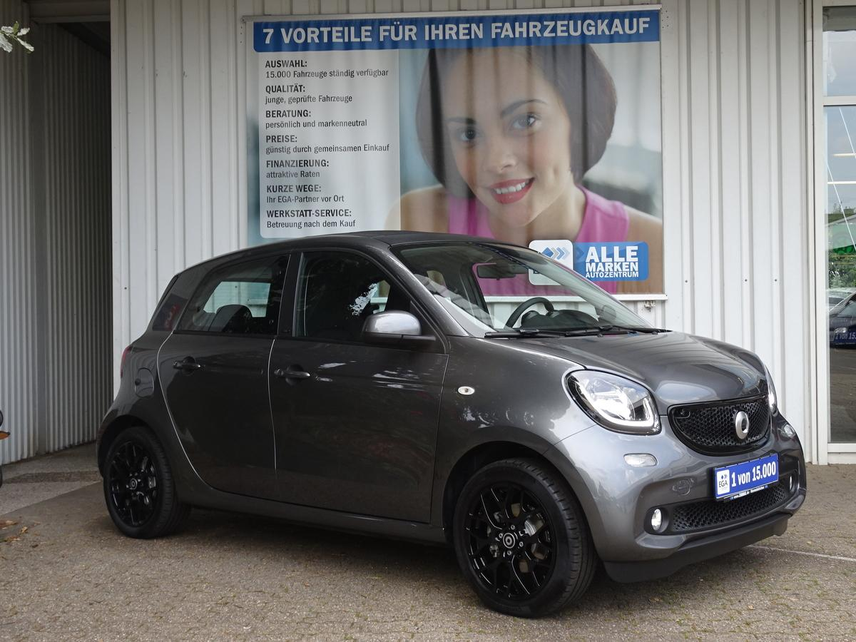 Smart ForFour 66kW*prime*TWINAMIC*FALTDACH*COOL&MEDIA*SPURASS*PDC*