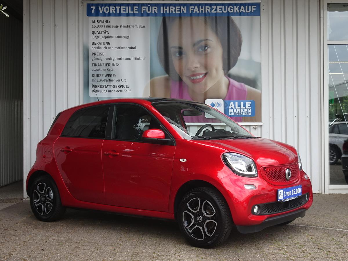 Smart ForFour 66kW*passion*PANORAMA*COOL&MEDIA*CAM*LED&SENSOR*SHZG