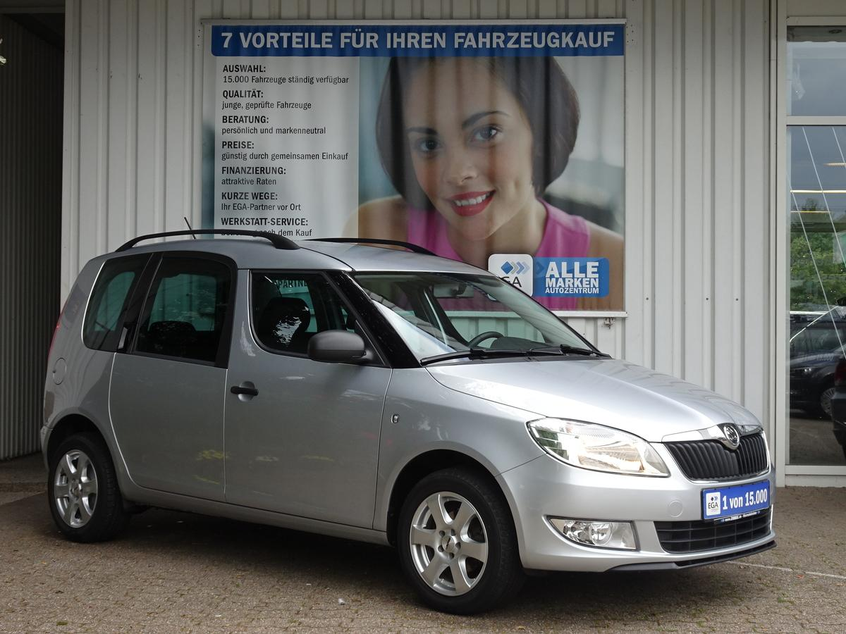 Skoda Roomster 1.2 TSI Active Plus Edit*AHK*KLIMA*SHZG*ALU*SUNSET*