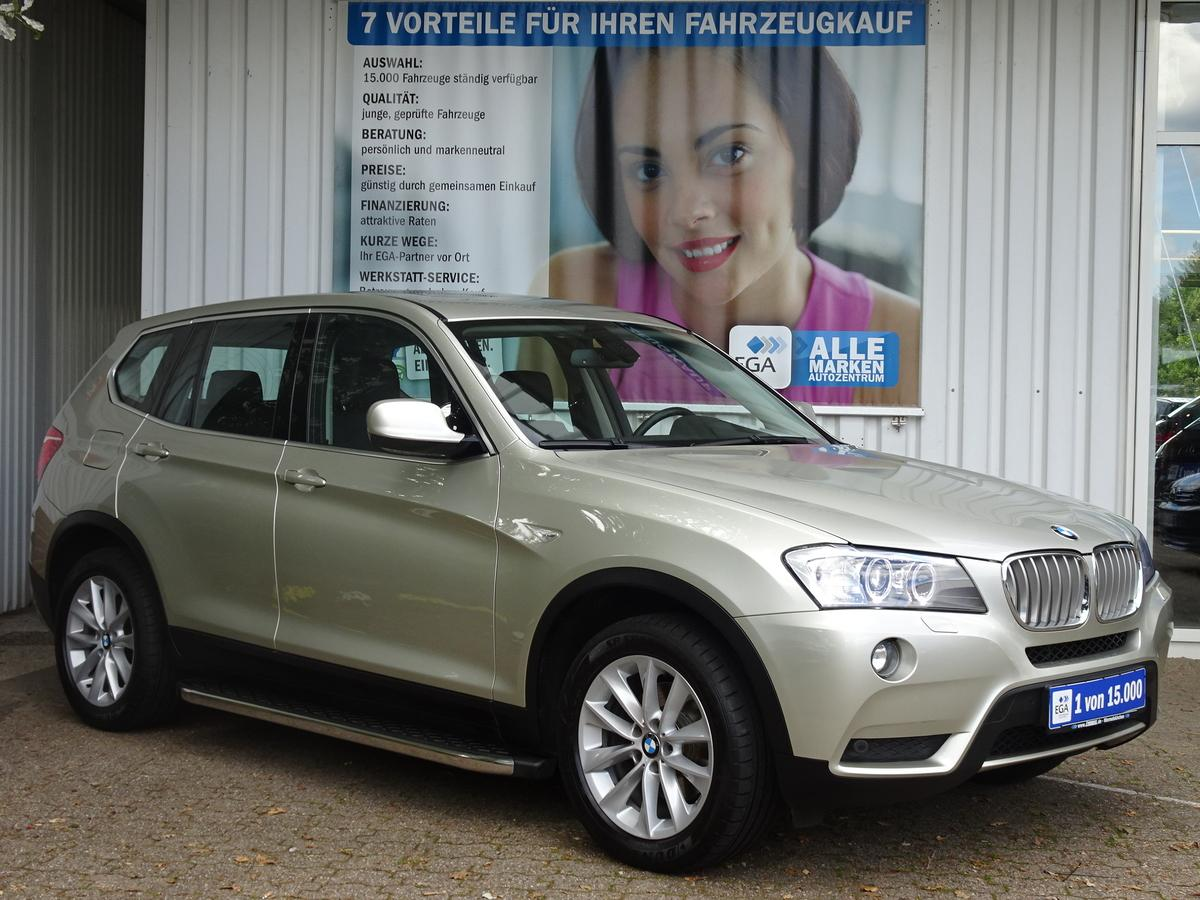 BMW X3 3,0d A xDRIVE HEAD UP NAVI LEDER SHZ  XENON PDC KAMERA