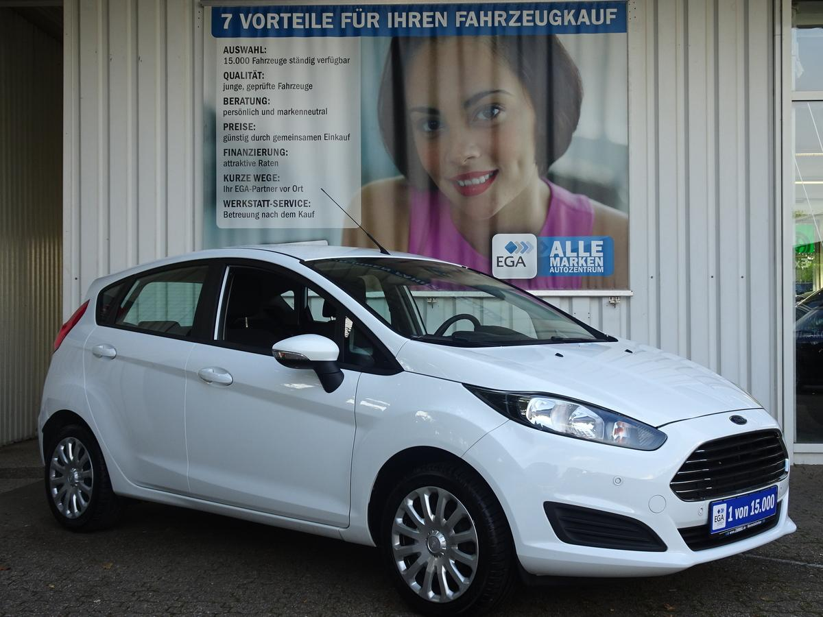 Ford Fiesta 1,2 COOl & SOUND KLIMA MFL PDC v+h  BC BLUETOOTH