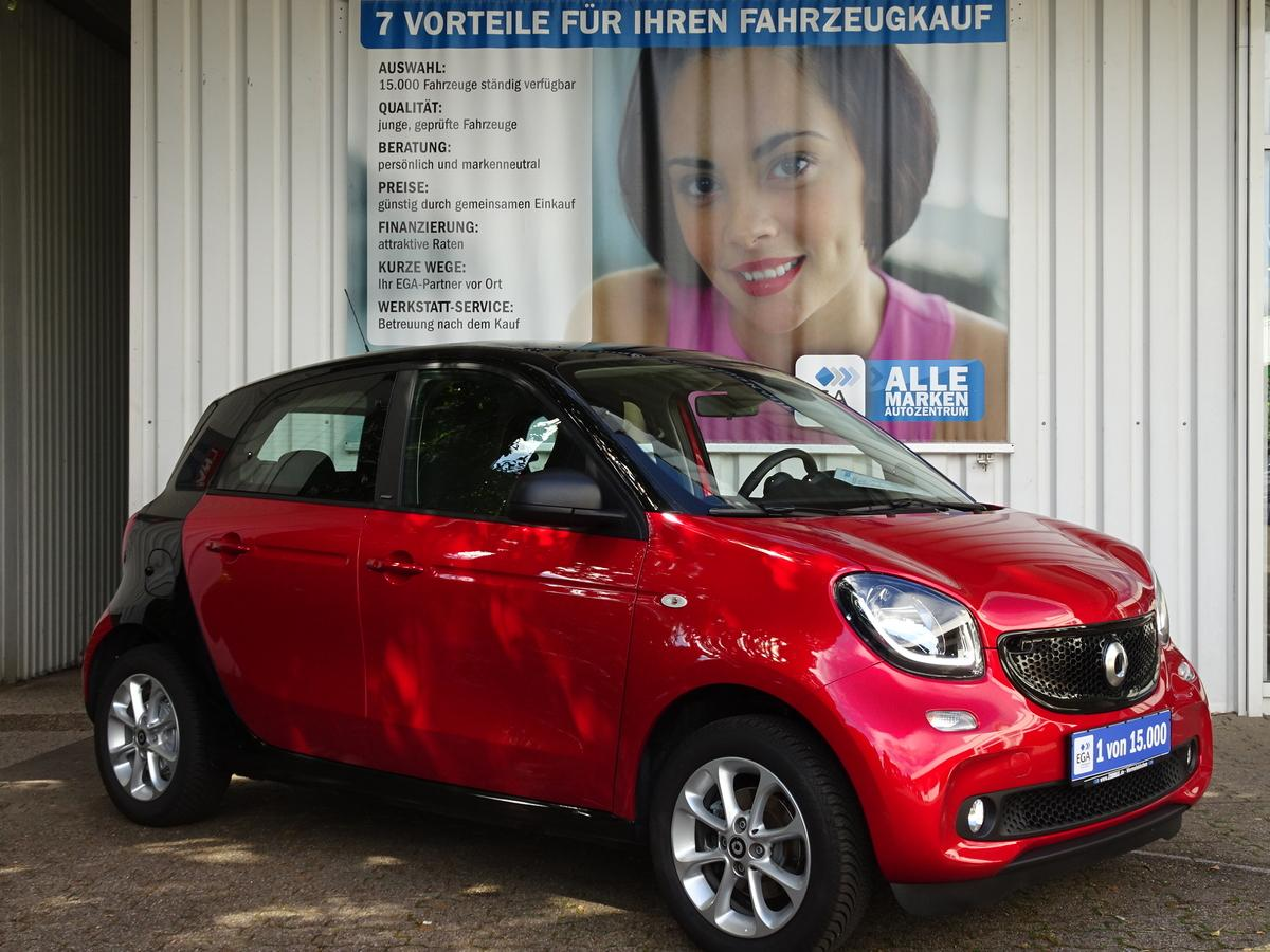 Smart ForFour passion twinamic PANO*PDC*SHZ*LED*COOL*AUDIO*BT