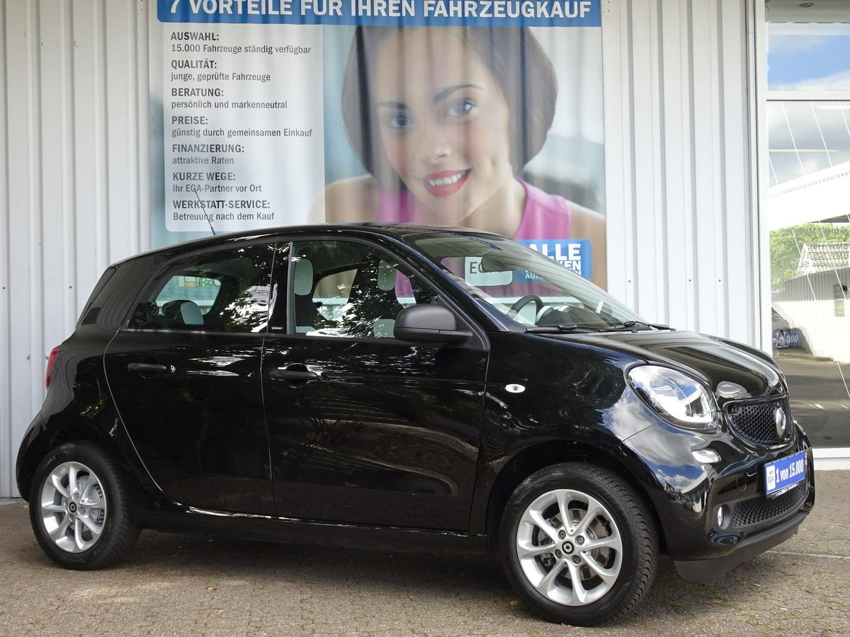 Smart ForFour 52kW passion COOL*AUDIO*LED*SENSOR*PDC*SHZ*READYSPAC