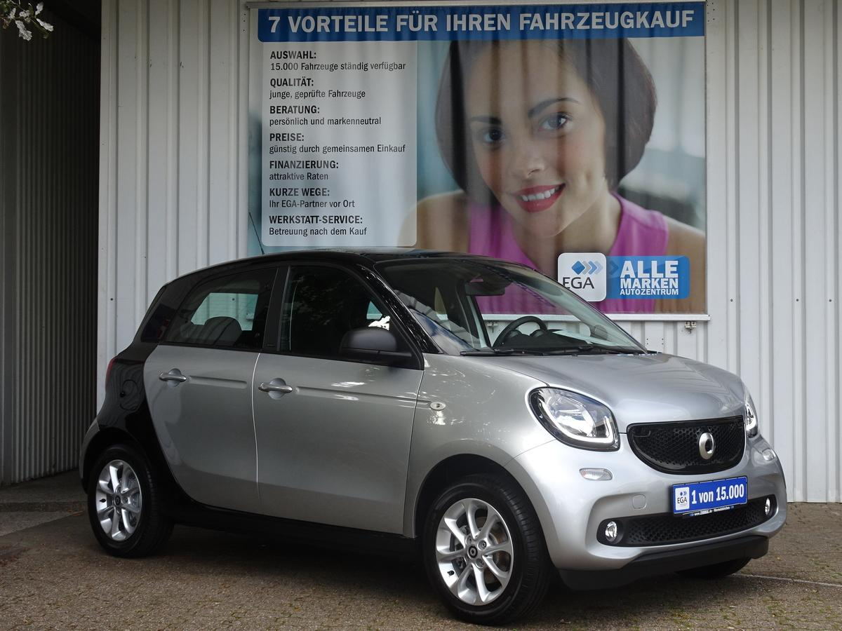 Smart ForFour 66kW passion PANO*COOL*AUDIO*PDC*SHZ*LED*SENSOR*KOMF