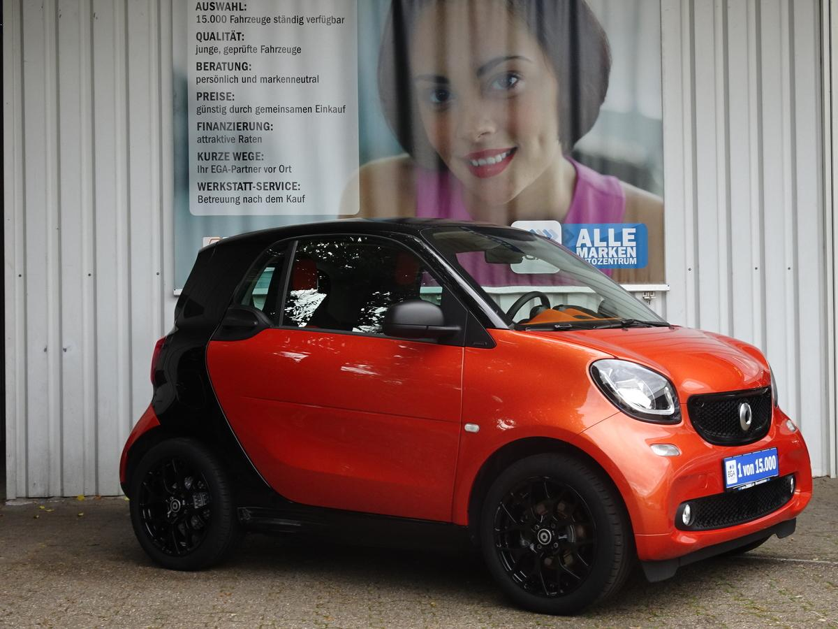Smart ForTwo 52kW passion twinamic SLEEK*STYLE*PANO*COOL*AUDIO*LED