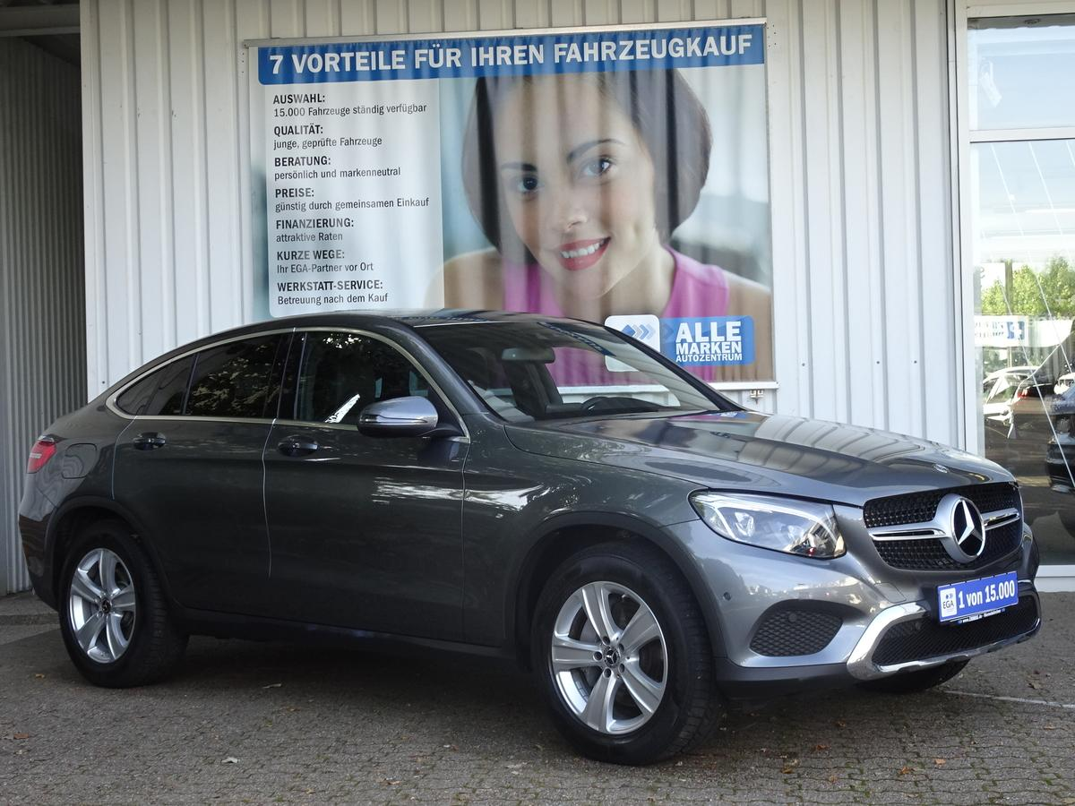 Mercedes-Benz GLC 220 d 4M Coupe EXCLUSIVE*LED INTELL*EGSD*AHK*TW*DAB*SHZ*PTS