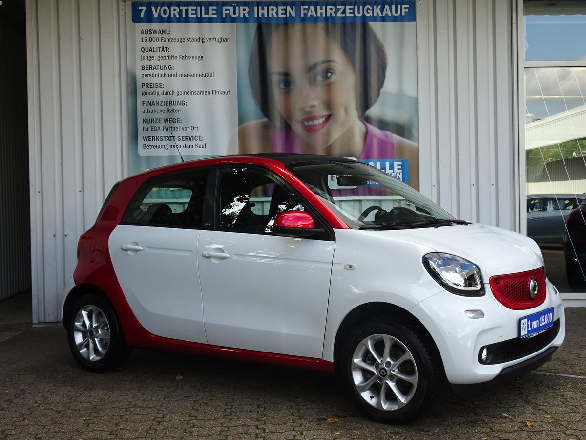 Smart ForFour 51kW passion twinamic*FALTDACH*PDC*SHZ*NAVI*MEDIA*BT
