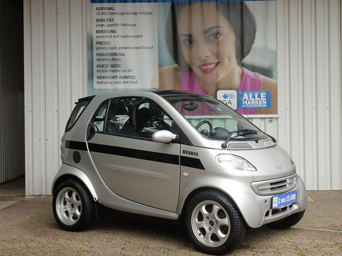Smart ForTwo 0,6 TURBO*BRABUS*KLIMA*ALU*PANORAMADACH