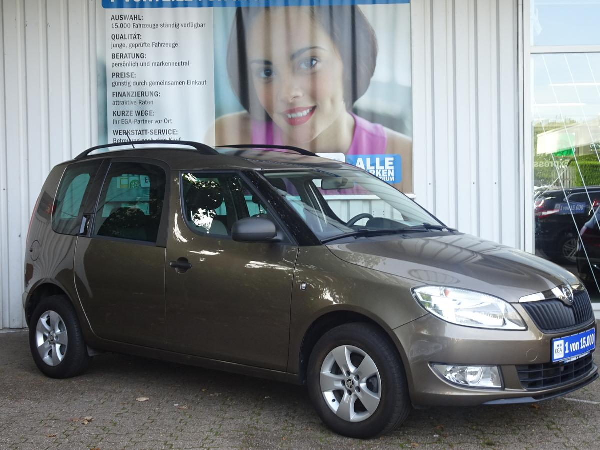Skoda Roomster 1.2 Active Plus Edition KLIMA*AHK*ALU*NSW*SUNSET*CD