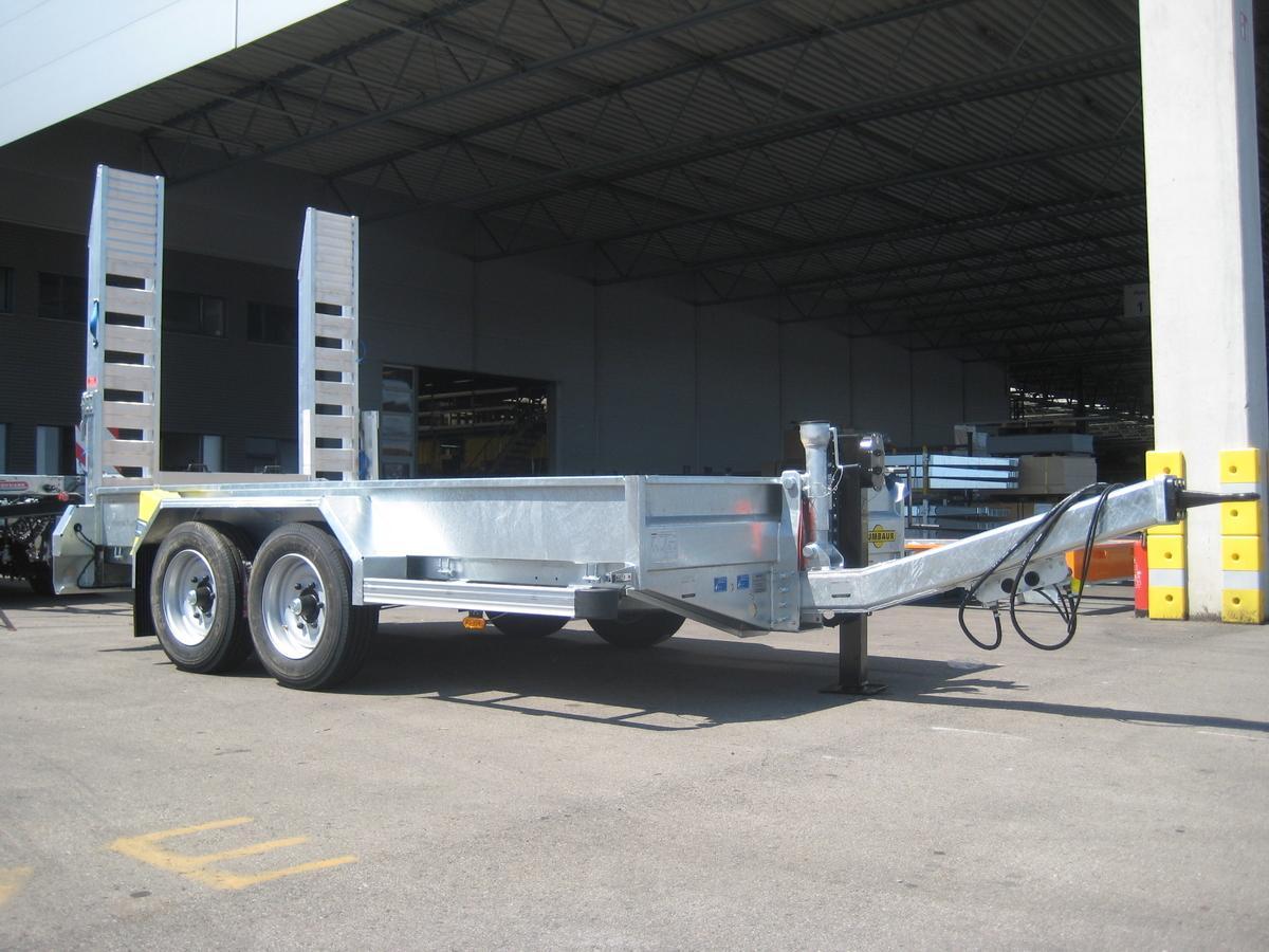 Humbaur HS 654020 BS Alu-Rampen Baumaschinen verzinkt