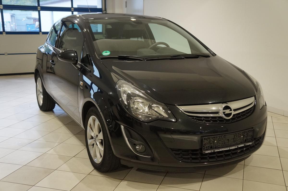Opel Corsa 1.4 SHZ PDC Tempomat Klima Winterräder