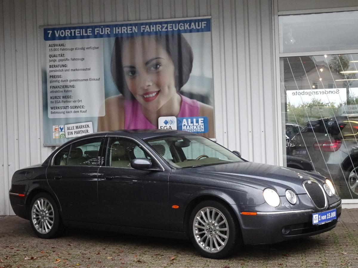 Jaguar S-Type  LEDER*NAVI*PDC v+h*XENON*SCHIEBEDACH*B. FRONTSCHEIBE