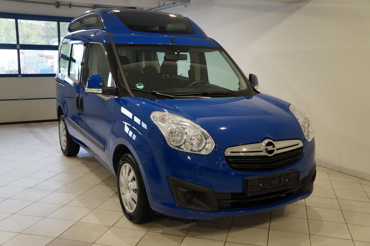 Opel Combo L1H2 mit Rollstuhlrampe behindertengerecht
