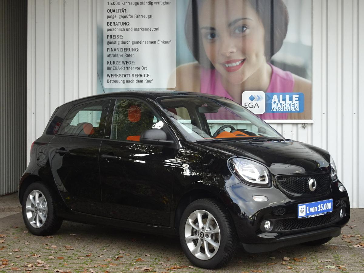 Smart ForFour 6 TKM !!! TWINAMIC*PANORAMAD*SHZ*ALLWETTER*TEMPOMAT
