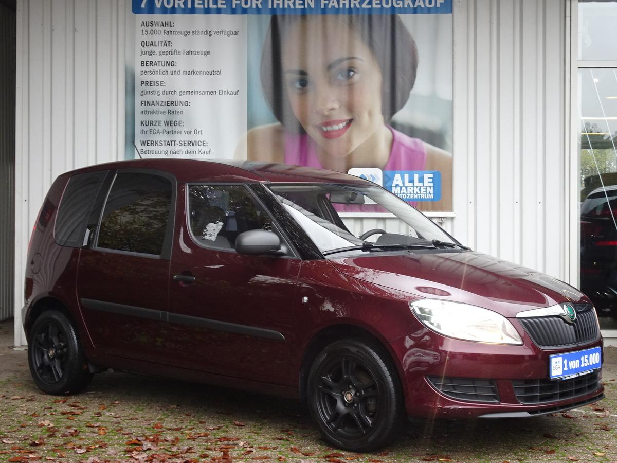 Skoda Roomster 1.4 Active Plus Edition*AHK*ALU*KLIMA*MP3*Wi RÄDER*