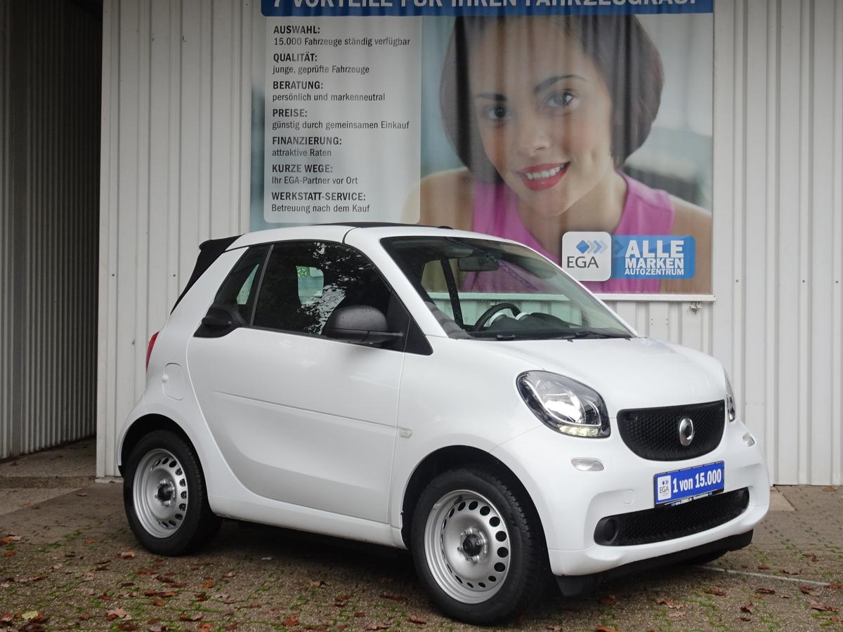 Smart ForTwo cabrio 52 KW twinamic SHZ*ALLWETTER*ZV*EFH*TEMPOMAT*