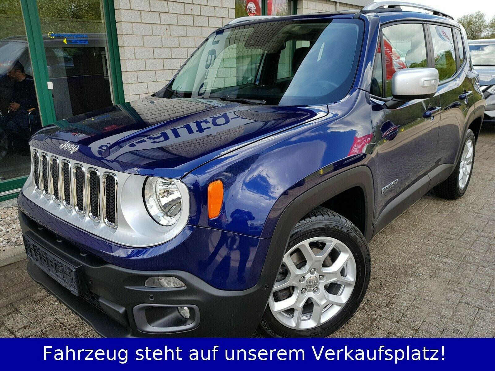 JEEP Renegade 1,4 Limited MultiAir ACC SHZ KEY EURO 6