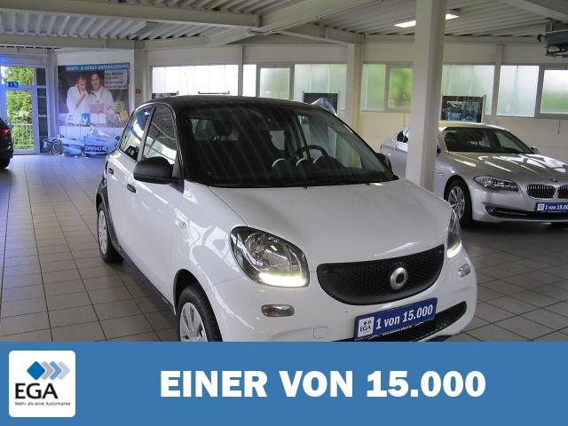 Smart ForFour forfour * 52 kW Pano.-Dach/Sitzhzg.