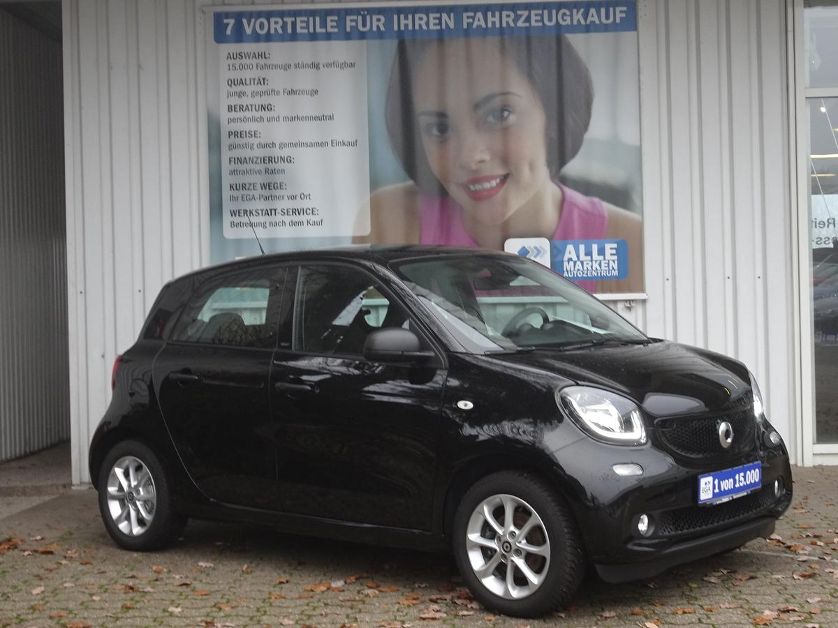 Smart ForFour passion 66kW PANO*COOL*AUDIO*LED*SENSOR*PDC*SHZ*KOMF