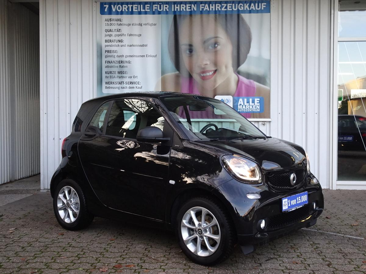 Smart ForTwo passion TWINAMIC*PANORAMA*COOL&AUDIO*LED&SENSOR*SHZG*