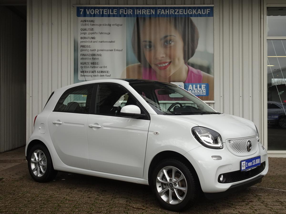 Smart ForFour passion TWINAMIC*PANO*COOL*CAM*PDC*SHZG*SPURASSIST*
