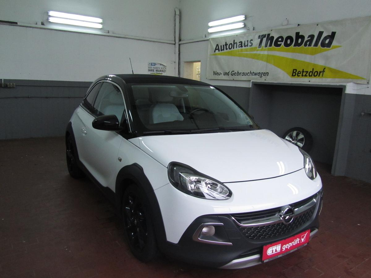Opel Adam Rocks 1 4 Faltdach Automatik 1 Hand Autohaus