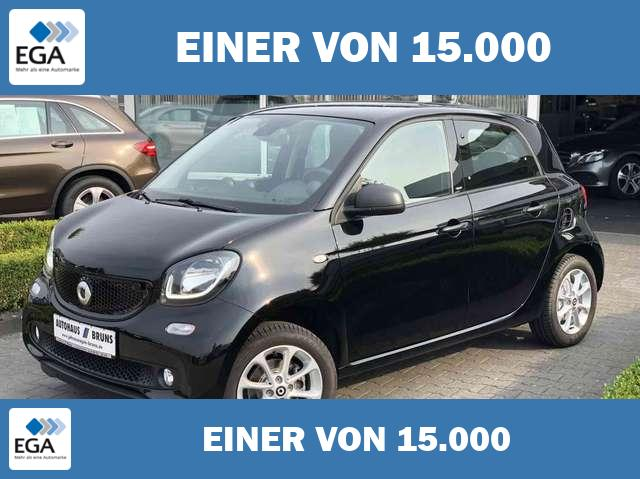 smart forFour PASSION, twinamic, Cool & Audio Paket, PTS, Sitzhe