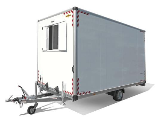 Humbaur 154222 Bauwagen isoliert