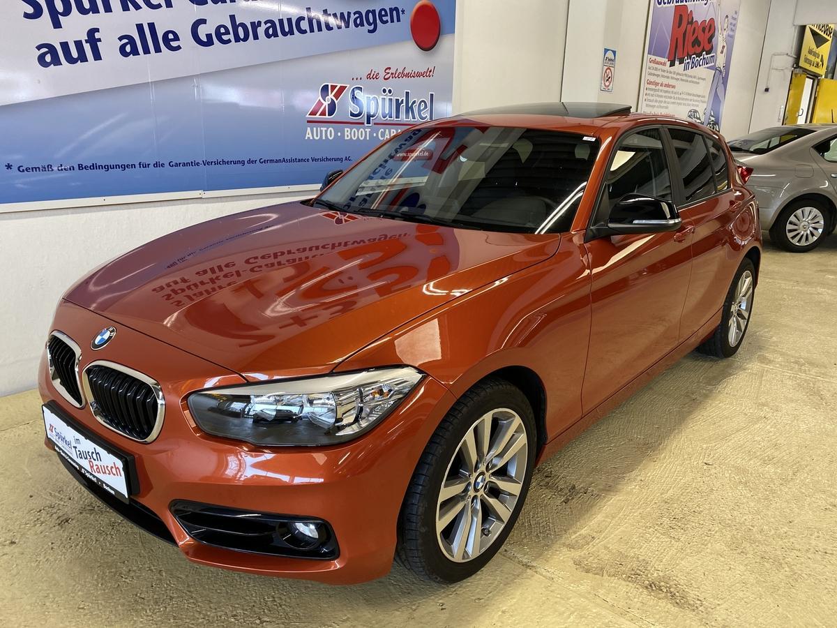 BMW 120i  Sport-Line Automatik,Schiebedach,AHK,