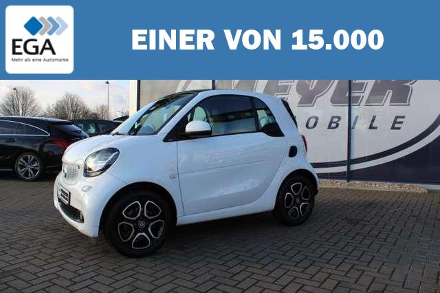 smart forTwo 1.0 Coupe Prime SHZ/Tempomat/15-Zoll-Alu