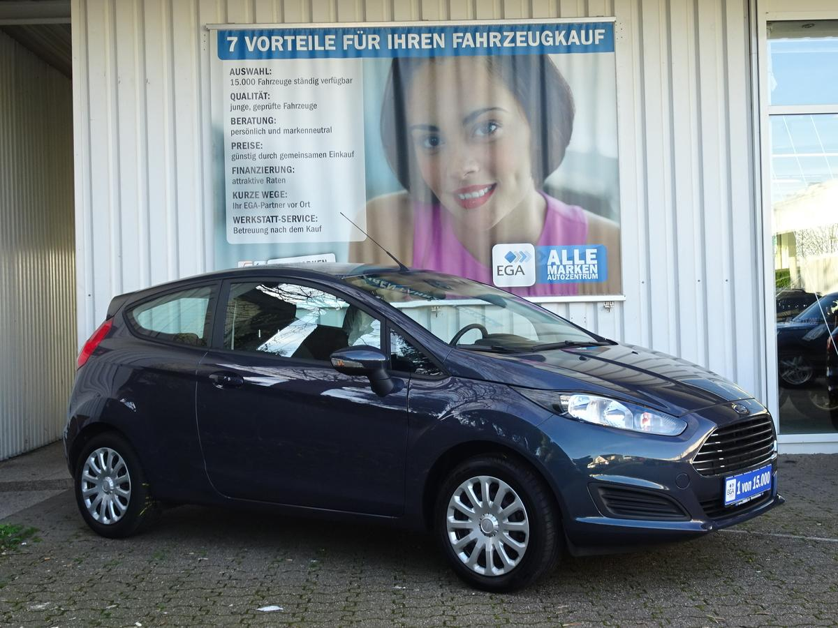 Ford Fiesta TREND 1,25  COOL&SOUND WINTERPAKET KLIMA MFL SHZ