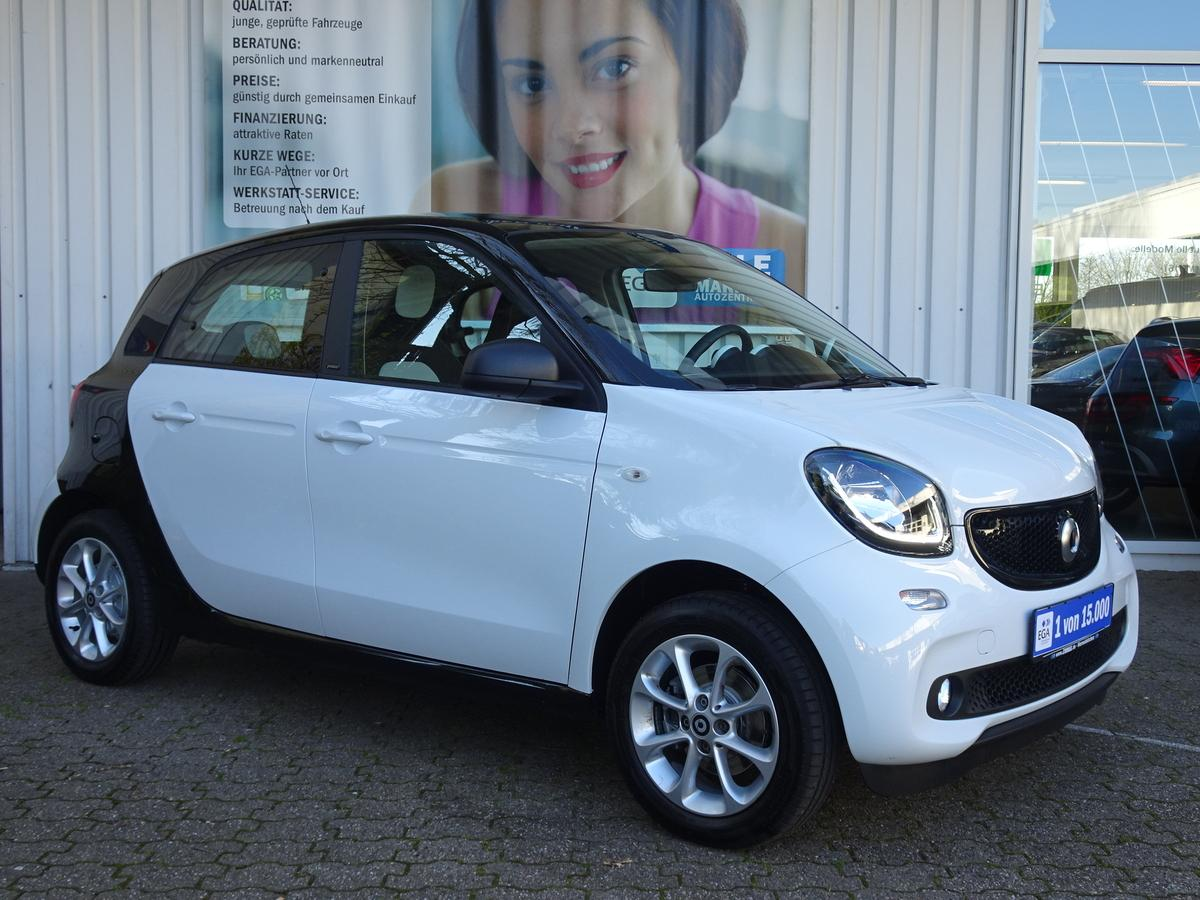 Smart ForFour passion COOL*AUDI*LED*SENSOR*PANO*PTS*SHZ*KOMFORT*