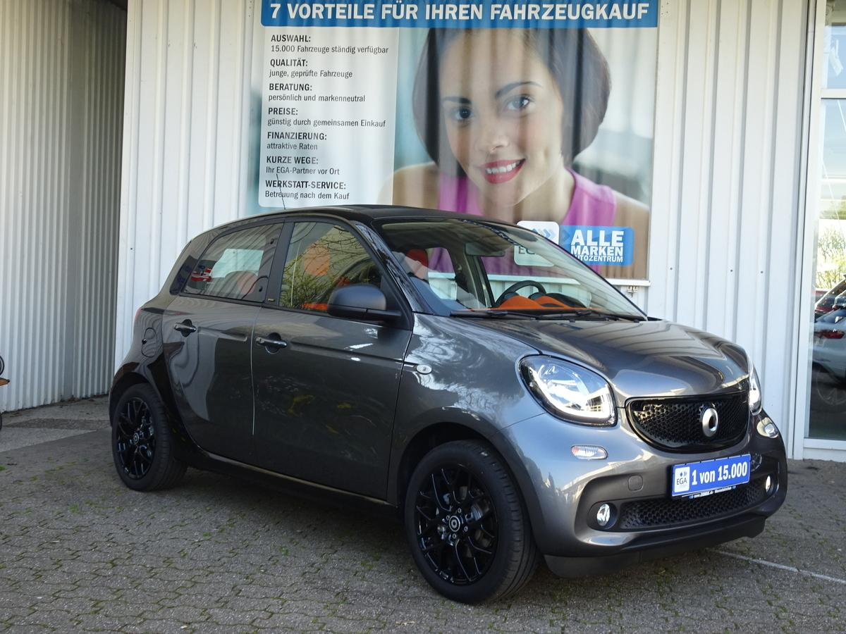 Smart ForFour twinamic SLEEK*NAVI*FALTDACH*DAB*PDC*SHZG*MEDIA*LED*