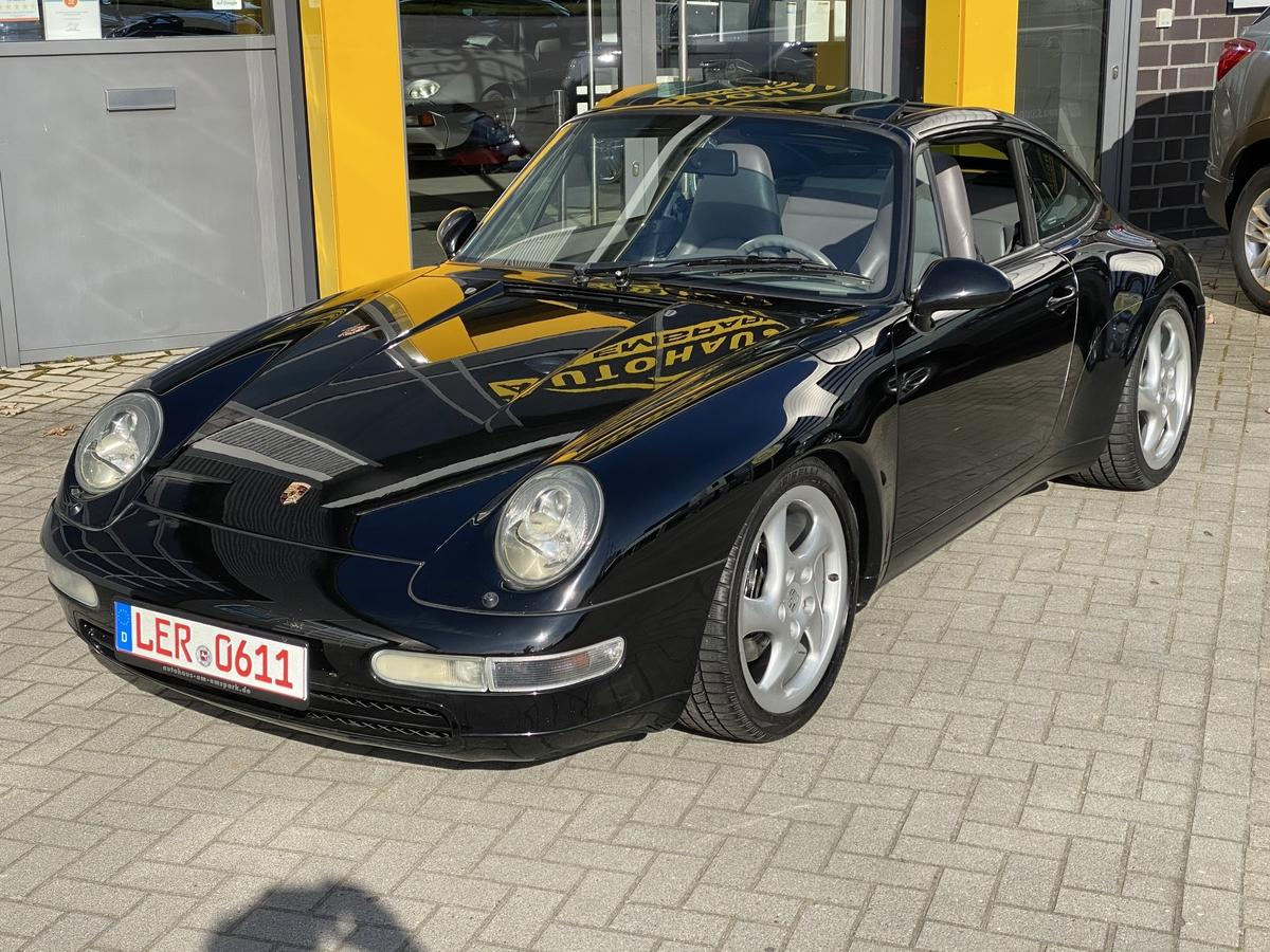 Porsche 993 911 Targa Carrera Schalter Leder Grau Xenon Tempomat