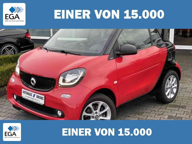 smart forTwo PASSION, Cool & Audio, LED & Sens., Sitzhg., Panor