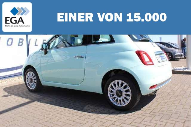 Fiat 500 1.2 8V Lounge Pano/U-Connect/PDC/15-Zoll