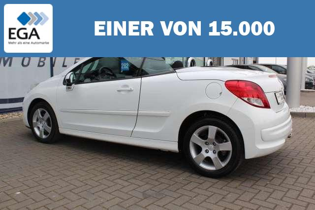 Peugeot 207 CC 155 THP Active 16-Zoll-Alu/PDC/Klima