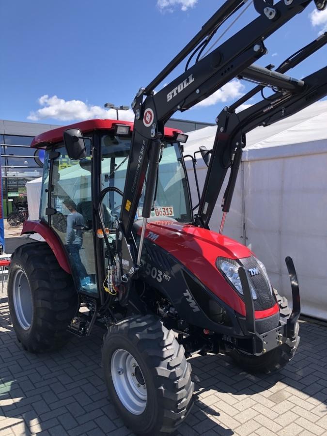 TYM T503 TYM Hydrostat Traktor Schepper,50PS, Kabine,Frontlader