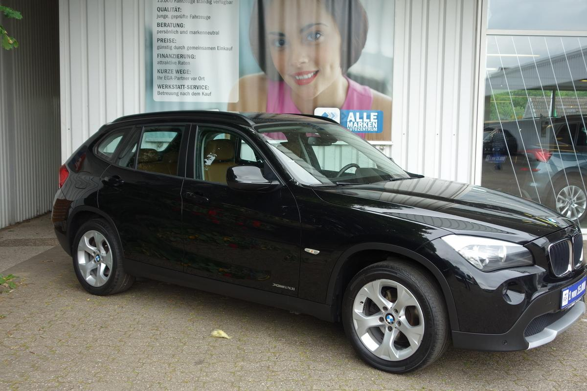 BMW X1 2,0 xDrive ALU KLIMA LEDER SHZ MFL PDC v+h AHK