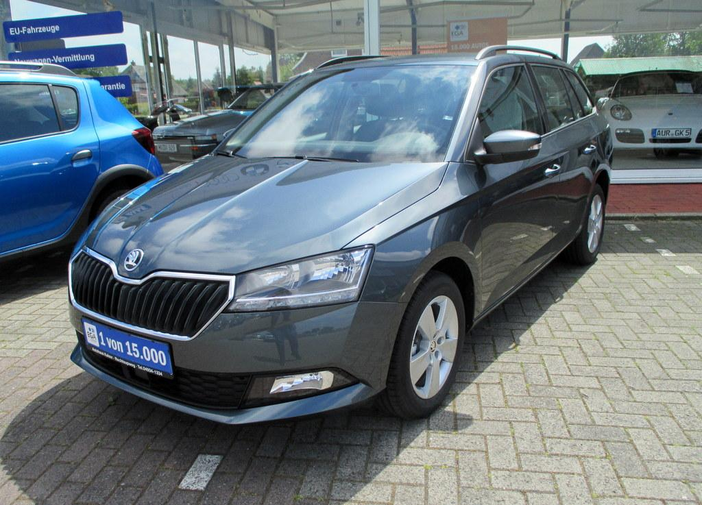Skoda Fabia Combi 1.0 TSI 95PS Ambition Klima SHZ Front-Assist.