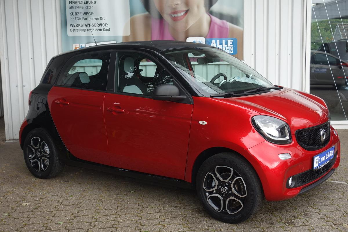 Smart ForFour ed UPE 30TE*FALTDACH*LANE*NAVI*WIPKT*CAM*BTH*SHZ*PDC