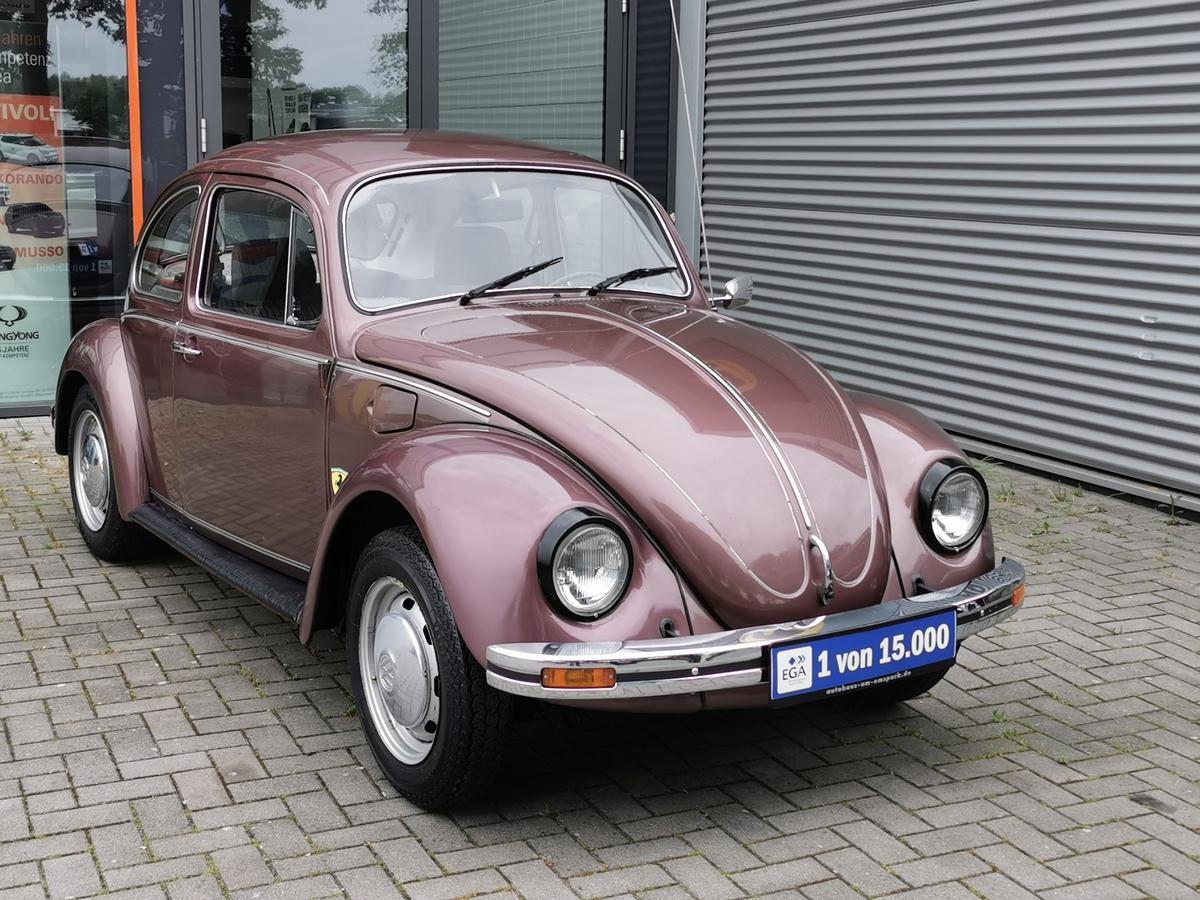Volkswagen Käfer 1200 L in Aubergine nur 3300 Stück, neue H Abnahme