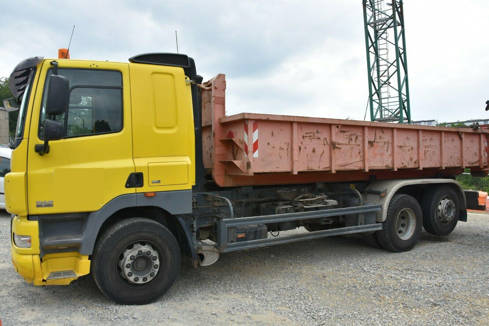 DAF DAF CF 85.460 6x4 Meiller Abrollkipper 26 Tonnen