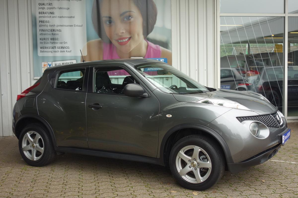 Nissan Juke 1,6 ALU*EL. FH VORNE + HINTEN*KLIMA