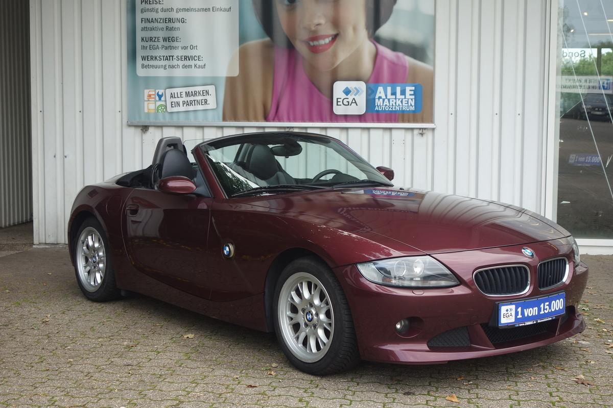 BMW Z4 2,5 AUTOM.KLIMA XENON HIFI SHZ LEDER TEMPO NAVI  MEMORY
